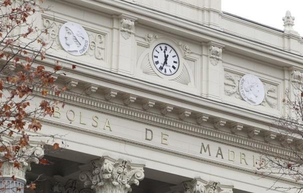 Economía/Bolsa.- El Ibex 35 aguanta los 9.200 puntos con una caída del 0,47% en la sesión