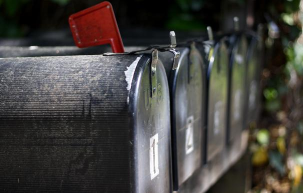 Fotografía de un buzón de correos.