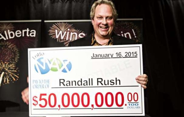 Randy Rush, ganador de 50 millones de dólares