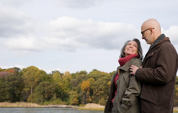 Fotografía de dos jubilados. En España se han de cumplir varios requistos para acceder a la pensión mínima de jubilación.
