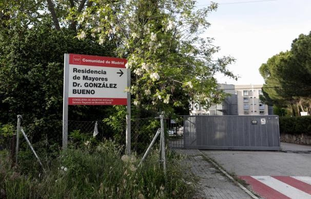 Residencia pública Doctor González Bueno en Madrid el 24 de abril de 2020, durante la pandemia del coronavirus.