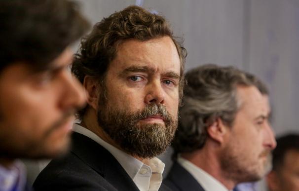 El portavoz de Vox en el Congreso de los Diputados, Iván Espinosa de los Monteros