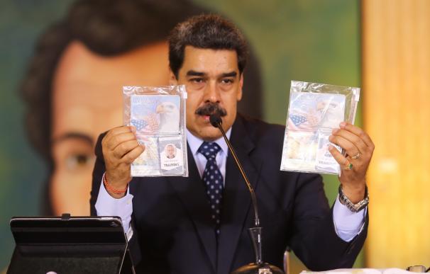 El presidente de Venezuela, Nicolás Maduro, está convencido de que EEUU está detrás de los hechos