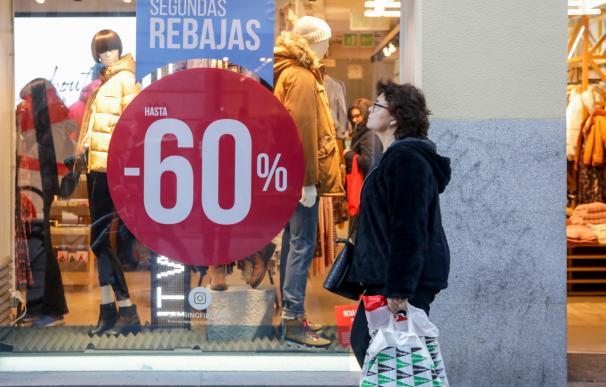 Rebajas comercio tiendas textil