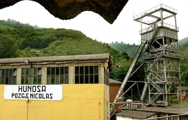 Fotografía Pozo abandonado Hunosa / EFE