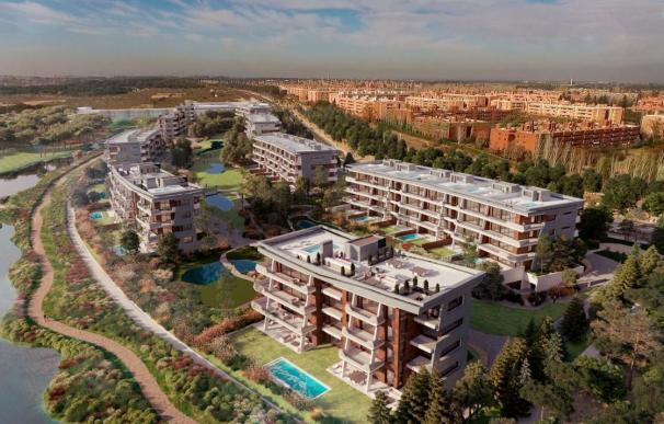 Promoción de pisos en La Finca.