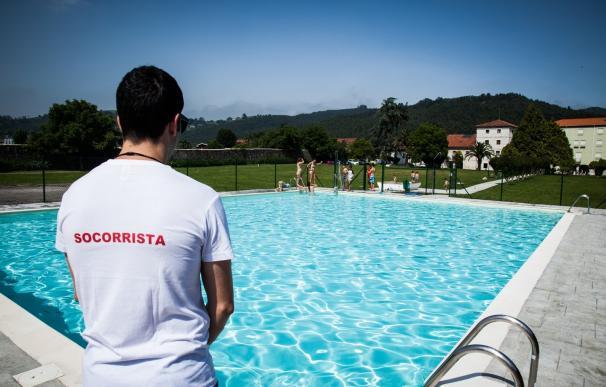 piscina, socorrista