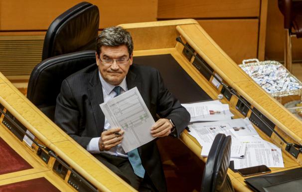 José Luis Escrivá en el Senado