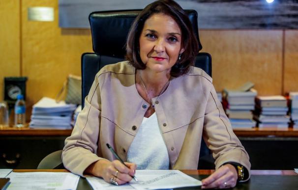 La ministra de Industria, Reyes Maroto