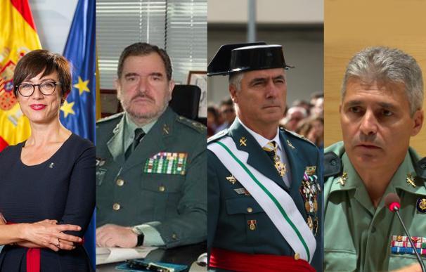 Marlaska se rodea de cuatro pretorianos y vulnera la tradición en la Guardia Civil