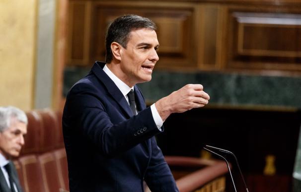 Pedro Sánchez - Pleno en el Congreso Diputados