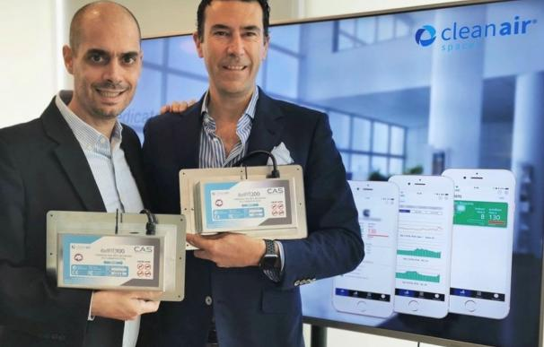 Dos españoles crean una tecnología de purificación de aire que elimina el virus