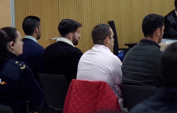 Primera sesión del juicio a miembros de 'La Manada' acusados de abusos sexuales a una joven en la localidad cordobesa de Pozoblanco.