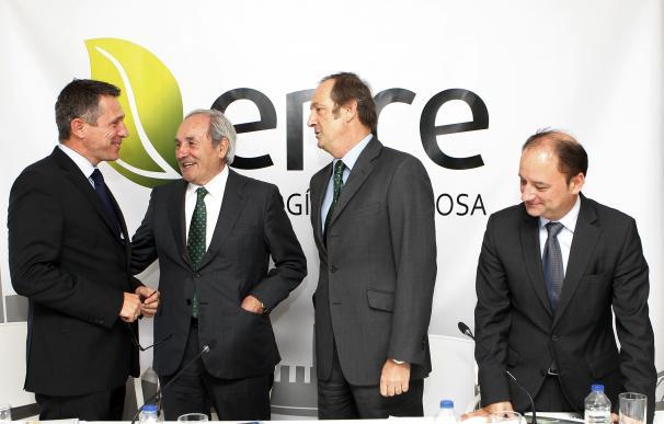José Luis Blasco, de KPMG, Juan Luis Arregui, Ignacio de Colmenares e Ignacio Casal.