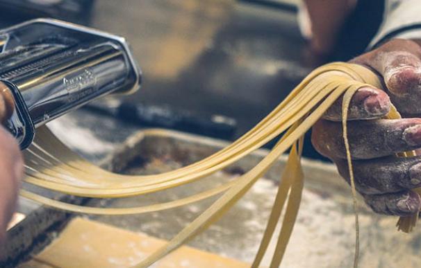 Máquina para elaborar pasta fresca y artesanal en casa