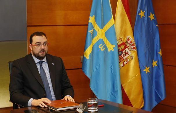 Adrián Barbón Rodríguez, presidente del Principado de Asturia