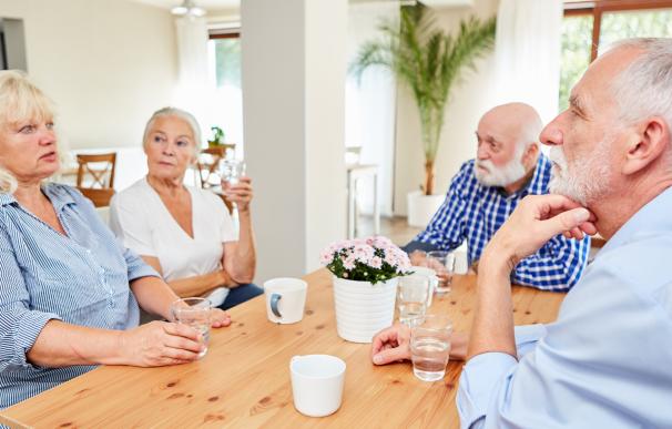 El IRPF se lleva una parte de la pensión de jubilación.