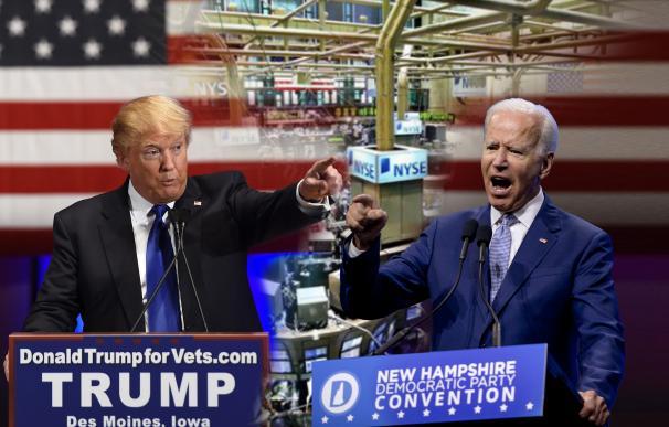 La 'prima de riesgo' electoral se dispara en EEUU con la crisis racial y la Covid