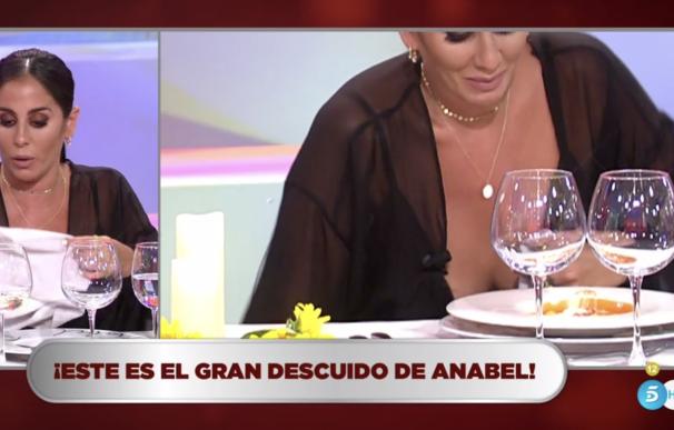 """""""El gran descuido de Anabel Pantoja"""", incidía el rótulo"""