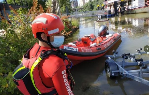 Hallan el cadáver del joven que desapareció el martes mientras cruzaba a nado el Pisuerga en Valladolid