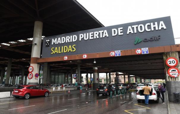 Imagen de la estación de tren de Atocha, en Madrid.