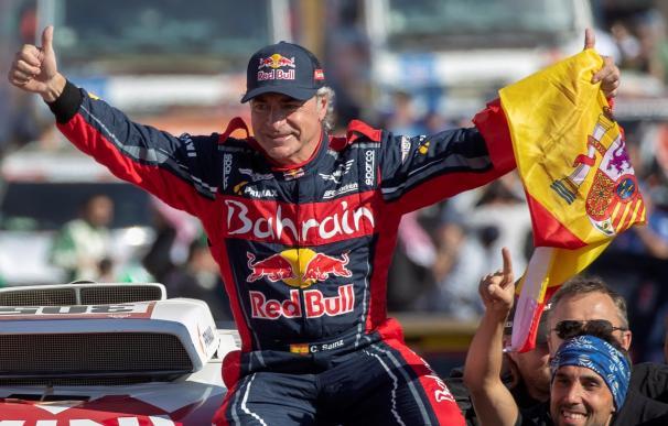 El piloto Carlos Sainz