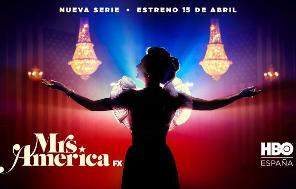La serie 'Mrs. América' repasa la política en Estados Unidos en los 70 desde la óptica femenina.