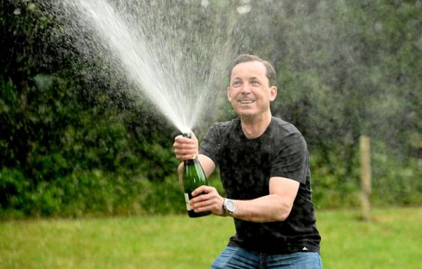 Marcin Jedrzejewski, ganador de lotería