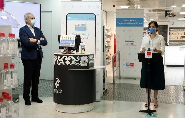 La Comunidad pone en marcha la primera Tarjeta Sanitaria Virtual para poderla usar desde el móvil