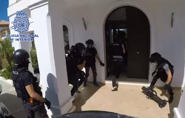 Registros de Policía Nacional en Marbella