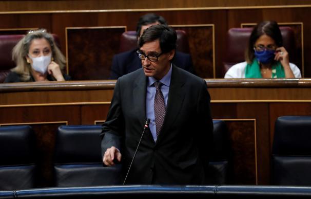Salvador Illa en el Congreso - decreto nueva normalidad