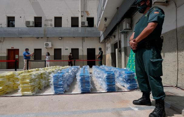 El pasado 17 de junio, las fuerzas de seguridad se incautaron de un gran alijo de cocaína en Valencia.