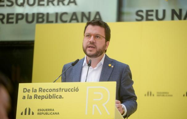 El vicepresidente de la Generalitat y coordinador general de ERC, Pere Aragonès El vicepresidente de la Generalitat y coordinador general de ERC, Pere Aragonès 27/6/2020
