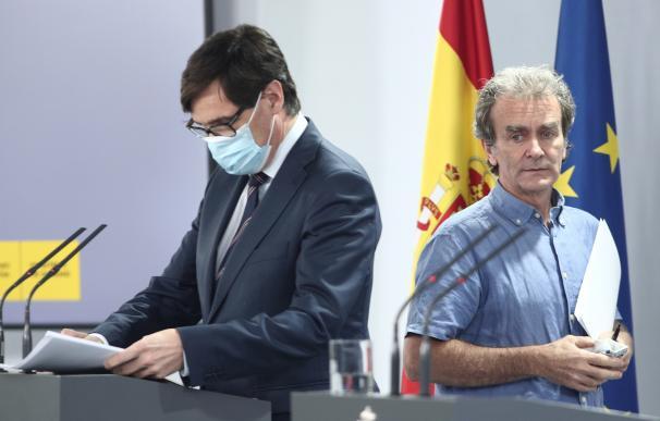 Fernando Simón y Salvador Illa