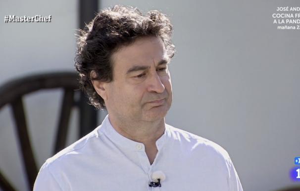 Pepe Rodríguez tras explicar que su restaurante lleva meses cerrado en 'MasterChef'