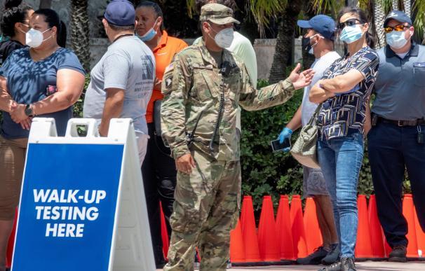 El virus avanza sin control en EEUU: supera los 16 casos por cada 100 personas en Florida