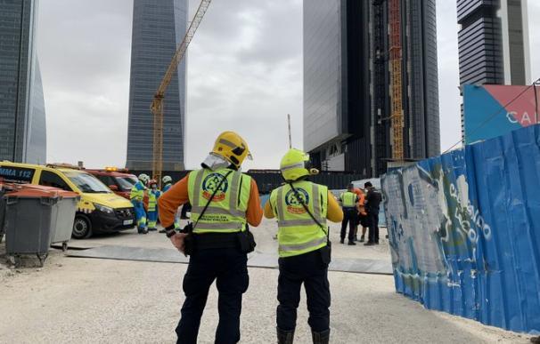 Desalojan la quinta torre de Madrid