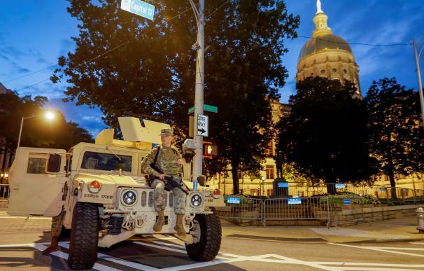 Guardia Nacional de Georgia desplegada en Atlanta después de un fin de semana de violencia
