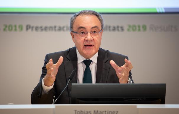 Tobías Martínez, consejero delegado de Cellnex Telecom