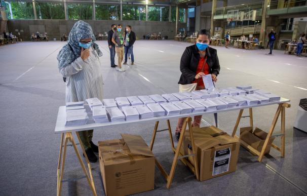 Jornada electoral en Euskadi y Galicia