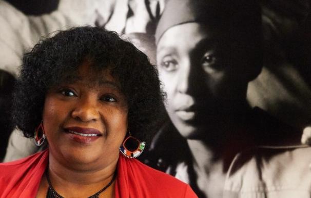 Zindzi Mandela, la hija menor de Nelson Mandela