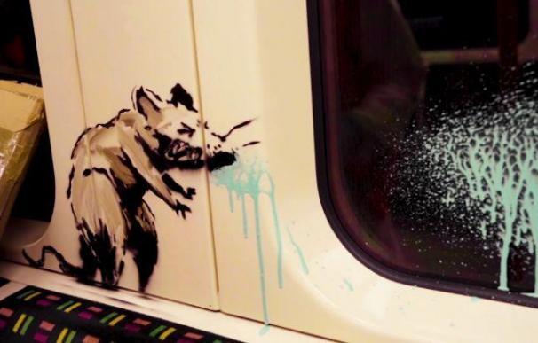 Banksy obra Metro Londres
