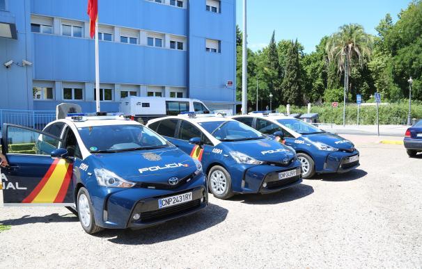 Los tres nuevos coches incorporados a la flota de la Policía Nacional de Córdoba