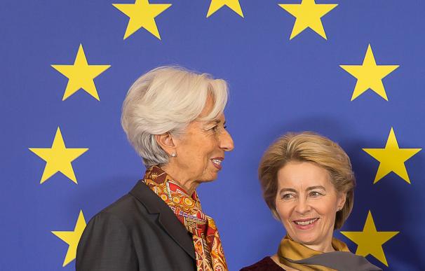 Christine Lagarde y Úrsula Von der Leyen, grandes impulsoras del plan de reconstrucción