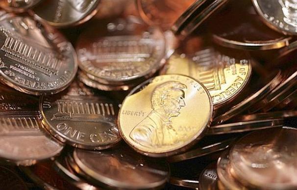 Los peniques de dólar escasean