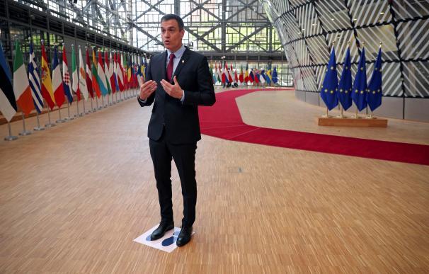 Sánchez en Bruselas