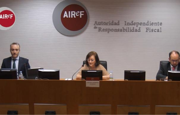 Acto de pesentación del estudio de la AIRef, celebrado de forma telemática
