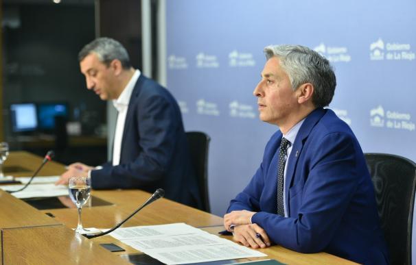 El secretario general del PSOE de La Rioja, Francisco Ocón