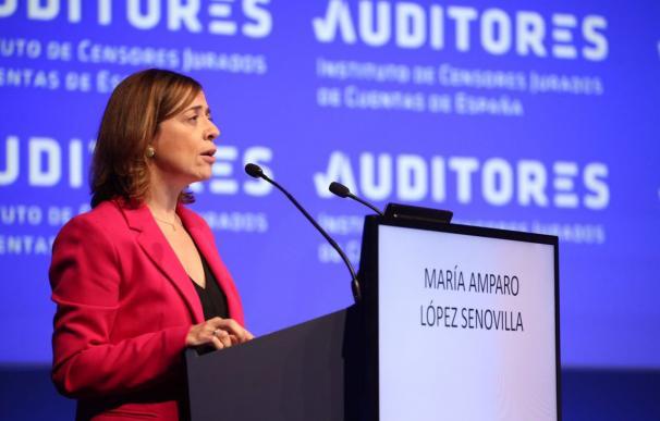 La subsecretaria de Economía, Amparo López Senovilla, quiere dar una nueva vuelta de tuerca a la actual Ley de Auditoría.