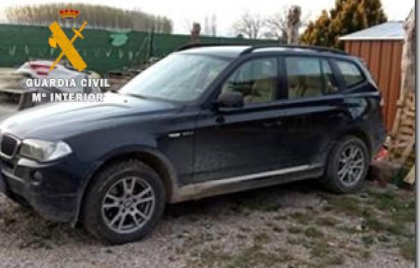 Vehículo recuperado de los robos po run clan en Navarra, Zaragoza y Huesca